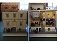 Grand Victorian dolls house - Furniture and Lighting