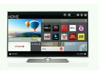 """LG 50"""" LED smart 3D wifi built USB MEDIA PLAYER HD FREEVIEW and Screen mirror full hd 1080p ."""