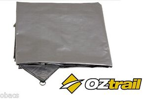 OZTRAIL ULTRARIG 12ft x 20ft POLY TARP HEAVY DUTY SILVER BRAND NEW CAMPING