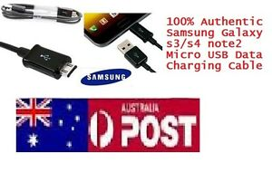 Genuine Micro USB Data Charger Cable For Samsung Galaxy S3/S4 i95 Hoppers Crossing Wyndham Area Preview