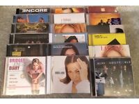 CD bundle (of 55) from the 1990's and 2000's - ideal for car boots