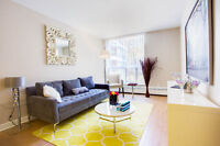 3.5 and 4.5 BDRM apartments with balcony in Cote Saint-Luc!