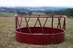 Looking for Large round bale hay feeder
