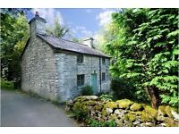 3 Night break at lovely trad. Welsh RIVERSIDE,Cottage, Betws Y Coed SNOWDONIA, N.WALES, Sleeps 4