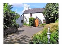 3 Nights in remote, peaceful, quirky, secluded countryside Welsh cottage, CONWY, N. Wales