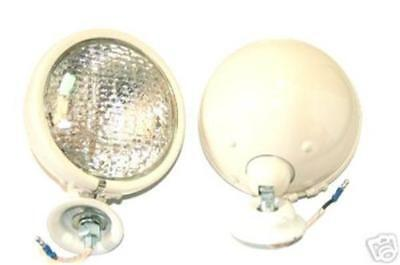 Ford 8n Tractor Copy Of Original Headlights Pair 12 Volt Tracto O Lite