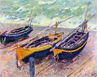 Oil Fishing Art Paintings