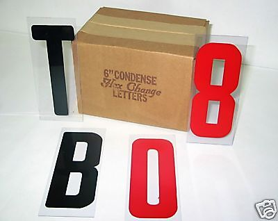 Sign Letters 6 Inch Flex Set For Changeable Signs 250 Ct