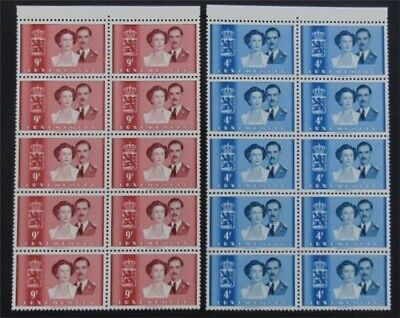 nystamps Luxembourg Stamp # 290.291 Mint OG NH $146   L23y3306