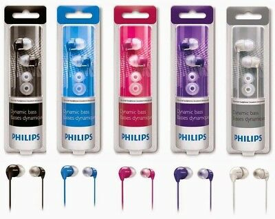 Philips SHE3590 In-Ear Headphones - Assorted Colors (Brand New Sealed) Phillips Ear Headphones
