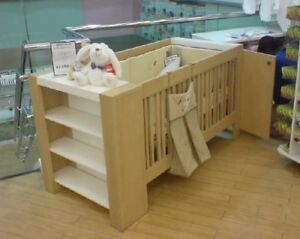 Modern Bedroom Set, Crib, Daybed, Double Bed (convertible)!