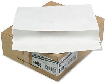 Tyvek Open-side Envelope Plain 10x13x2 100ct White