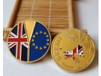 June 23,2016 United Kingdom Detach EU Coin BREXIT Collection Souvenir Coins
