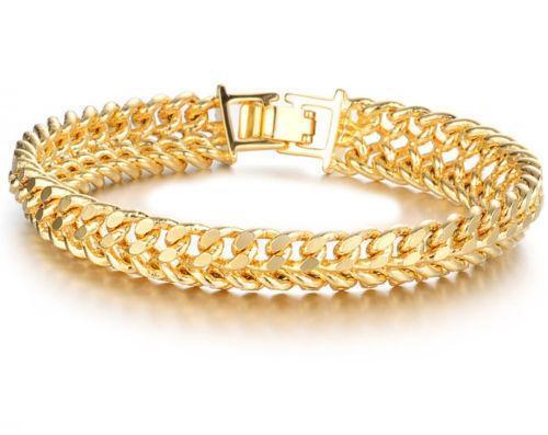 Womens Gold Chain Bracelets Ebay