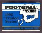 1990 Topps Traded Football Set