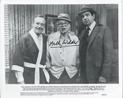 Billy Wilder Signed