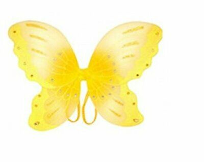 New Yellow Jewel Butterfly Wing Costume Dress-up Wings  - Yellow Butterfly Wings Costume