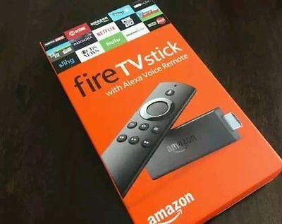 New Quad Core AMAZON FIRE TV STICK UNLOCKED K0DI 17.1 FULLY L0ADED
