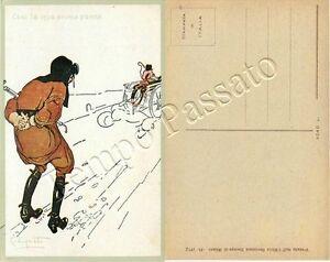 Furto di motocicletta a uomo in panne / illustratore Codognato - Italia - L'oggetto può essere restituito - Italia