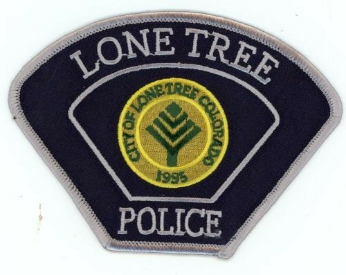 LONE TREE COLORADO CO POLICE COLORFUL PATCH SHERIFF