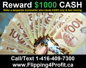 Would you like to earn a $1000 CASH reward in Brantford