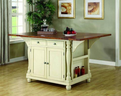 two kitchen islands kitchen islands carts tables portable lighting ebay 2994
