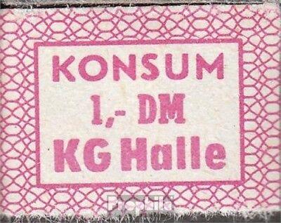 DDR Konsummarke KG Halle bankfrisch 1 DM