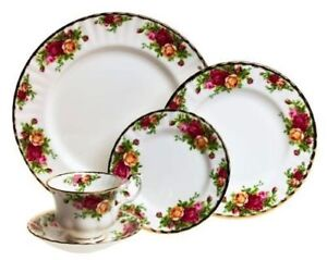 Royal Albert Old Country Rose 6-piece place setting