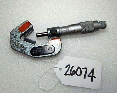 Brown Sharpe V Anvil Micrometer 599-175-2 Inv.26074