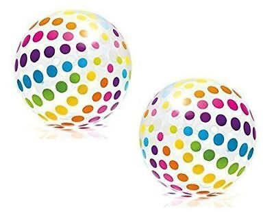 2 pack Colorful  Beach Ball Intex Jumbo Big 42