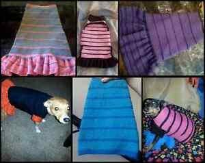 Dog Clothing! From Tiny Puppies To Huge Great Danes!!