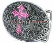Cowgirl Belt Buckle