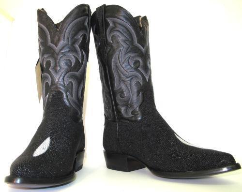 Stingray Skin Boots Ebay