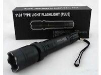 Electro Self-defense Electric Flashlight Tourch Police fackel