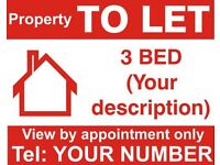 HOUSE TO LET *3 BEDROOM HOUSE* *BD4*