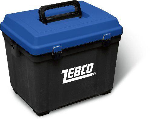 Behr Superbox Sitzkiepe Angelkoffer belastbar bis 150kg Gerätebox Angelkasten