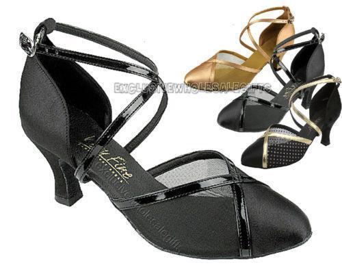 ballroom shoes closed toe ebay