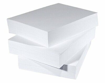 A6 ~ A5 ~ A4 ~1/3A4 ~Square ~White Printer Copy Paper 80gsm  Copier MultiPurpose