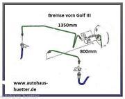 Bremsleitung Golf 3