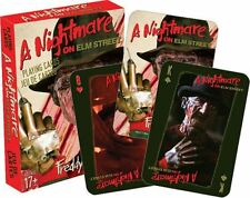 NIGHTMARE ON ELM STREET - PLAYING CARD DECK - 52 CARDS NEW - FREDDY 52320
