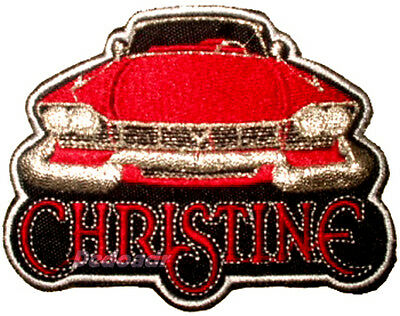 Christine Embroidered Patch Horror Movie Evil 1958 Plymouth Fury Stephen King