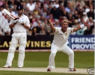 Shane Warne Cricket Legned Great 10x8 Photo