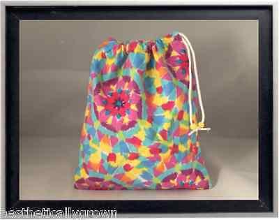 Gymnastics Leotard Grip Bags / Vibrant Kaleidoscope Gymnast Birthday Goody Bag