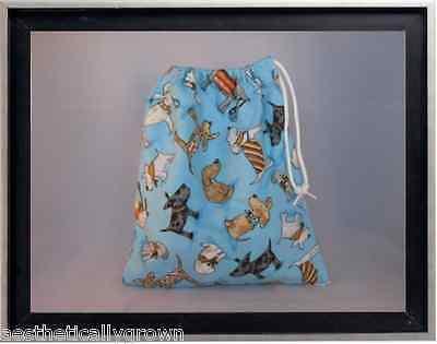 Gymnastics Leotard Grip Bags / Adorable Dogs Gymnasts Birthday Goody Bag