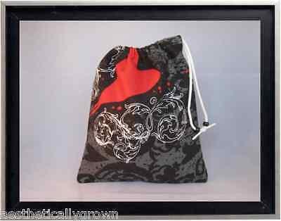 Gymnastics Leotard Grip Bags / Red Heart Tattoo Gymnasts Birthday Goody Bag
