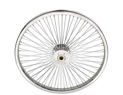 Low Rider Lowrider Bike Tricycle Rear 20 72 Spoke Hollow-hub Wheel 14g Chrome