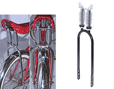 "Large STEERING WHEEL Double TWISTED CAGED 8/"" DIAMETER Lowrider Cruiser Bike"