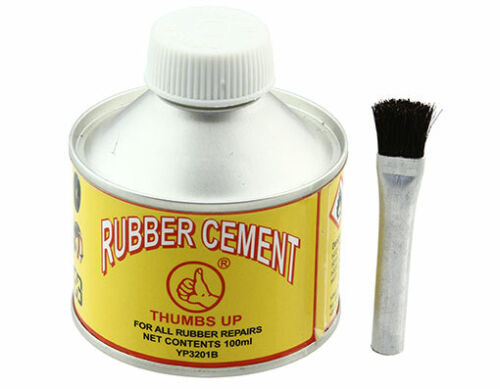 NEW! Rubber Buffer Cement Solution - Tire Patch Repair