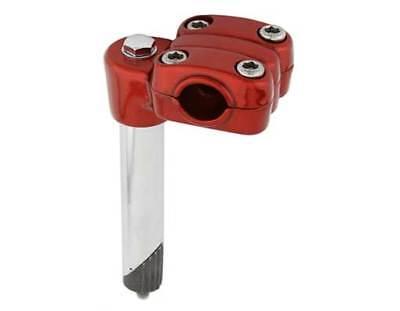"7//8/"" RED Old school BMX Suntour style 21.1mm quill stem 22.2mm handlebars"