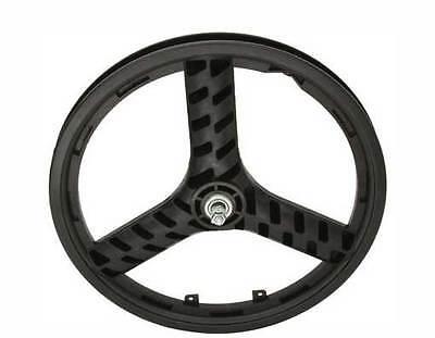 "BICYCLE 20"" FRONT WHEEL STEALTH MAG 3-SPOKE BEACH CRUISER LOWRIDER BMX MTB"